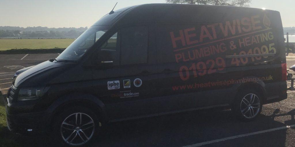 Heatwise Plumbing Van